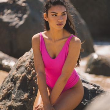 Chinelo Flocado Zebra Prata (Tiras Transparentes)