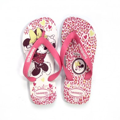 Havaiana Minnie Animal Print