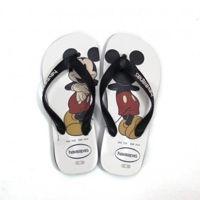 Havaiana Preta Mickey