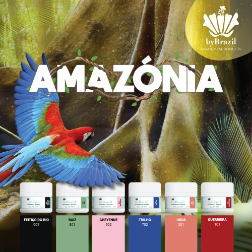 Kit Gel de Cor Amazónia