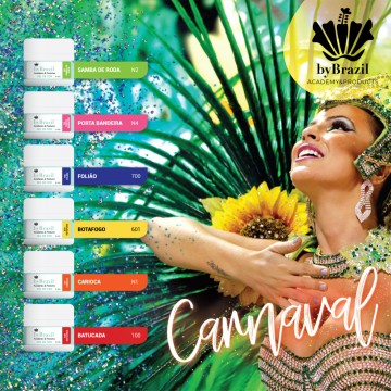 Kit Gel de Cor Carnaval