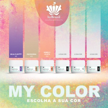 Kit Gel de Cor My Color