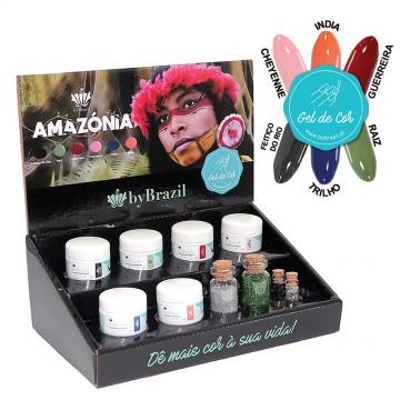 Kit Gel de Cor Amazónia