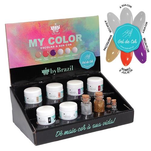Kit Gel de Cor My Color