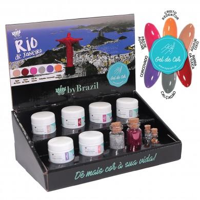Kit Gel de Cor Rio de Janeiro