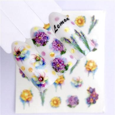 Decalque de Flores